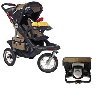 jeep liberty limited urban terrain jogging stroller review | nathan